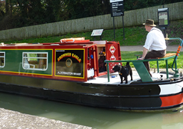 Pets on a Canal Holiday